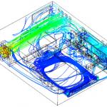 1U Enclosure Airflow Analysis